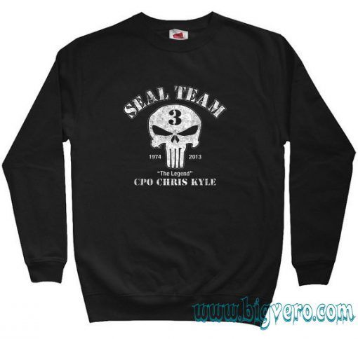US Sniper Chris Kyle American Legend Sweatshirt Size S-XXL //Price: $29.00    #clothing #shirt #tshirt #tees #tee #graphictee #dtg #bigvero #OnSell #Trends #outfit #OutfitOutTheDay #OutfitDay