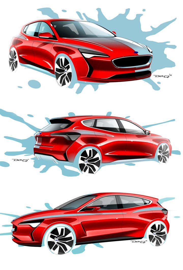 2018 Ford Focus Interior Design Sketch Immagini Preferiresti