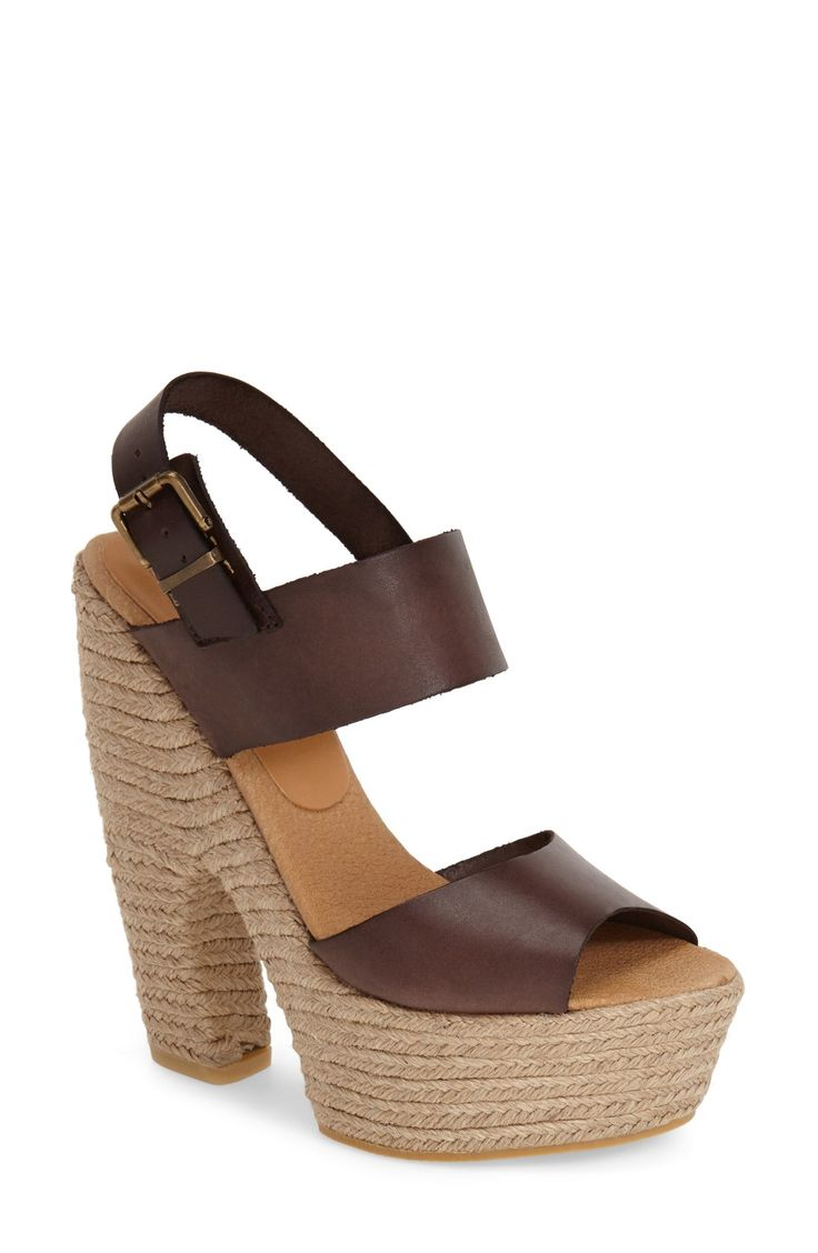 Obsessed With These Sky High Platform Espadrille Sandals