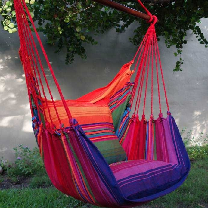 Hanging Hammock Chair - Drag N Fly from Flora Decor