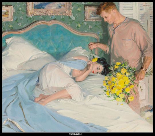 111 best vintage romance art images on pinterest romance art tom lovell romance artvintage sciox Gallery