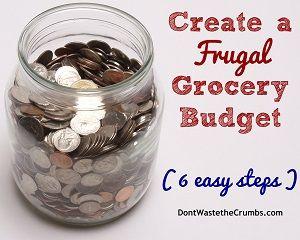 Creating a Frugal Grocery Budget (a series) Part 2 | DontWastetheCrumbs.comDon't Waste the Crumbs!