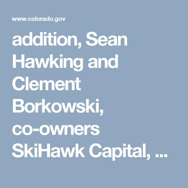 addition, Sean Hawking and Clement Borkowski, co-owners SkiHawk Capital, a licensed Colorado investment advisor firm, all of Colorado Springs, were sanctioned. Borkowski and Hawkins are also part entrepreneurs and supervisors of ASI Capital. The Commissioner's discoveries state that SkiHawk Capital violated guidelines by filing inaccurate records and failing to report custody of customer funds. In addition to the access of a cease and desist order, as part of the settlement, ASI Capital…