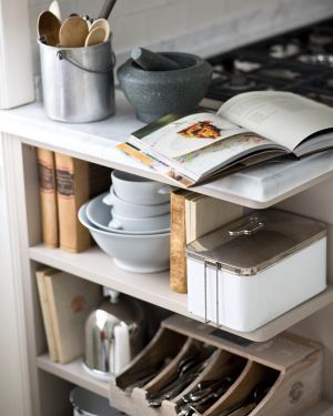 Like the Silverware organization option for this kitchen