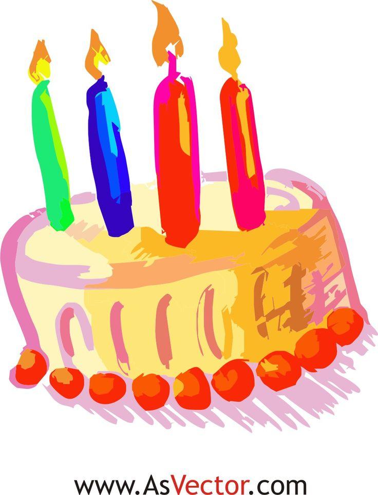 Birthday Cake Clip Art For Facebook : 25 best images about birthdays on Pinterest Birthday ...