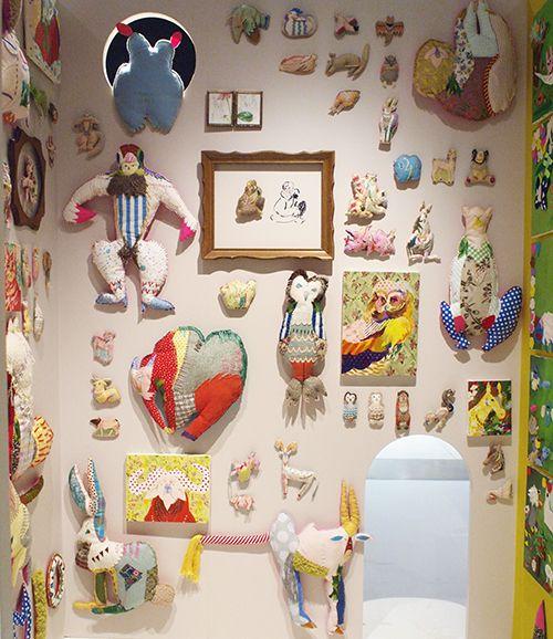 Fiber artist Kamio Mari -『シブカル祭。2014』PARCO MUSEUM