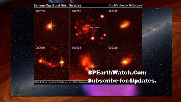 Gamma Ray Burst/Earth Directed/Onset of Global Cooling.
