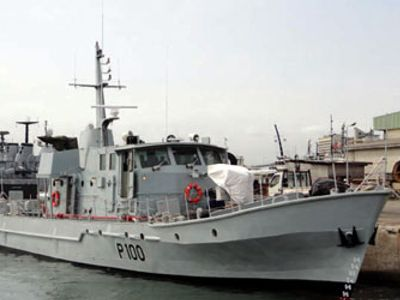 First Seaward Defence Boat of Nigerian Navy NNS Andoni.Over last year Nigerian Navy took delivery of 3 OCEA patrol boats,3 Manta Fast Patrol Boats & 2 Shaldag patrol craft.Build ongoing on 2 Chinese offshore patrol vessels,1 built in China & other at Naval Shipyard in Nigeria.Nigeria also building 38metre Seaward Defence Boat.Refitting NNS Ekun fast attack craft,NNS Ohue & NNS Barama minesweepers & soon refit NNS Yola & NNS Brass patrol craft.In addition,3 inshore patrol craft to reactivate.
