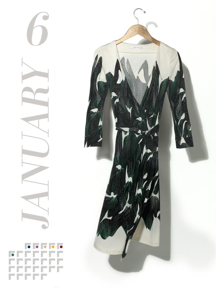 The dress code for Sunday brunch is offhand sultry. It's a wrap.    Diane von Furstenberg silk Reina dress, $298Diane von Furstenberg, NYC, 646.486.4800
