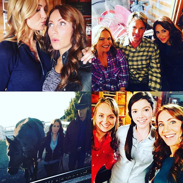 "heartlandians: """"Behind the scenes of Heartland - 9x13 - Risky Business Photo by: Miranda Frigon "" """