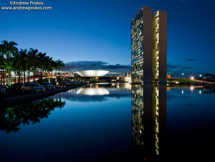 Congresso Nacional, Brasilia at Dusk II