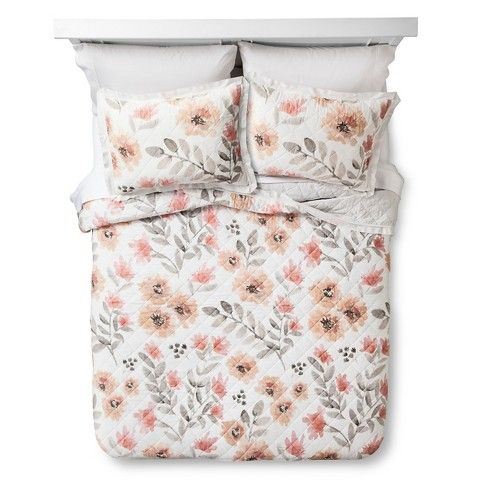 In love with this! -- Target: Threshold™ Floral Watercolor Quilt