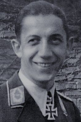 """Major Hellmut Kerutt (1916-2000), Kommandeur Fallschirmjäger Batallion """"Kerutt"""", Ritterkreuz 02.02.1945"""