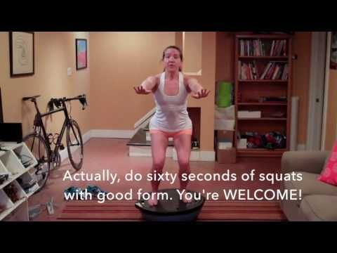 The BOSU: A Secret Weapon for Runners | another mother runner