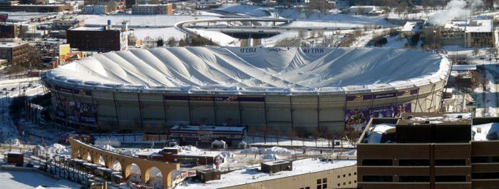 10 Metrodome Roof Collapse 2010 In 2020 Weather Opera House Minnesota