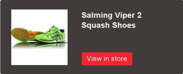 Salming Viper 2 Gecko Green Squash Shoes