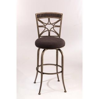 hillsdale chandler swivel bar stool brighten up your room with the hillsdale furniture chandler swivel bar stool beautifully crafted this stool has a