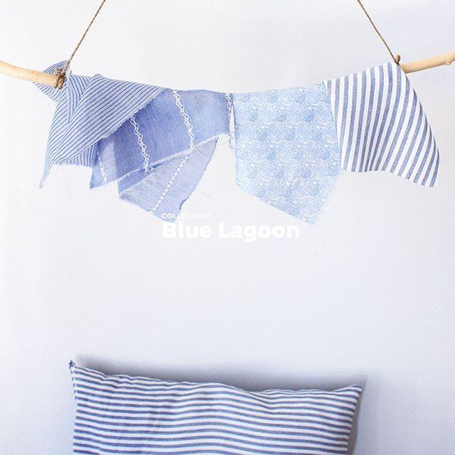 La collection #bluelagoon est en ligne ! On pense déjà aux balades le long de la mer, au soleil chez #Folkandfabric ! #folk #tissus #fabrics #fabric #tissu #pattern #diy #sew #sewing #couture