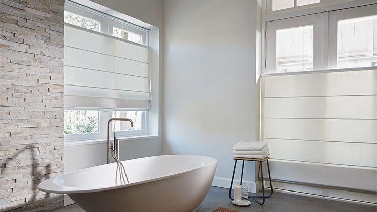 Laat u inspireren door Luxaflex® raamdecoratie. Roman Shades