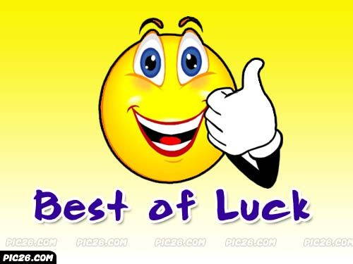 Good Luck Wallpaper