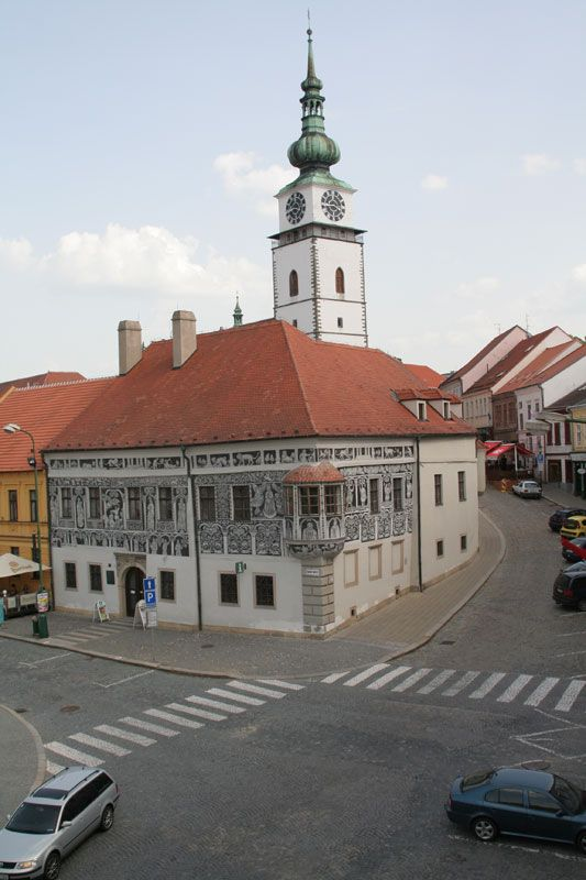 Třebíč - (Czech pronunciation: [ˈtr̝̊ɛbiːtʃ] ; German: Trebitsch) is a town in the Moravian part of the Vysočina Region of the Czech Republic. There are many sights. The Jewish Quarter and St. Procopius Basilica is listed as a UNESCO World Heritage Site. The famous Basilica originated in the early 12th century as a Benedictine monastery.