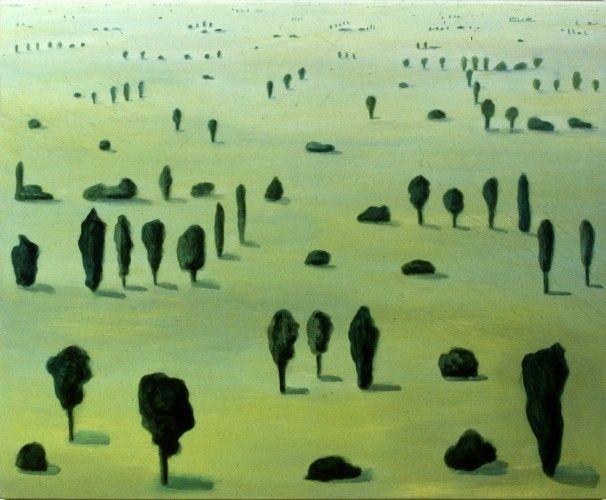 Several Trees, 1987, Kinke Kooi