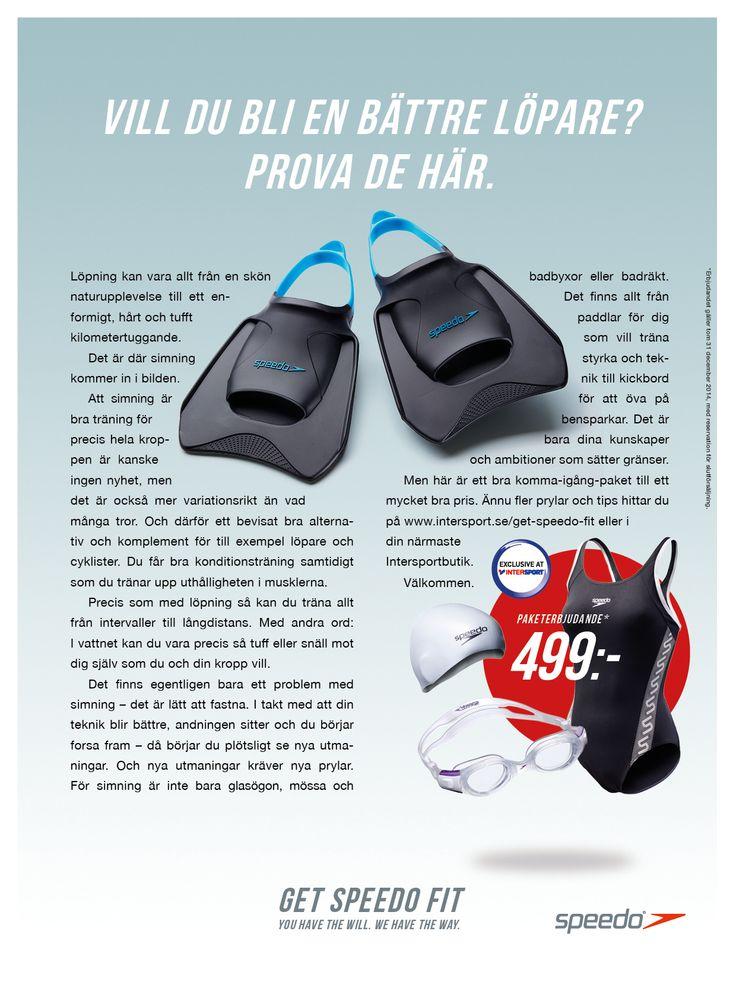Speedo är ett välkänt internationellt varumärke för simkläder och simutrustning. Och vi fick den stora äran att hjälpa Speedo med att få fler svenskar att upptäcka vilken fantastisk träning simning är.