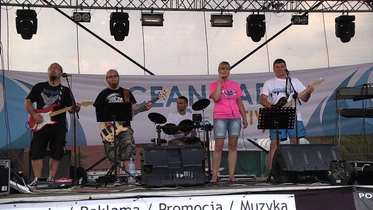 """""""Bywaj"""" z Władysławowa -  Rostkowski Country Band  śpiewa  Aneta Rostkowska"""