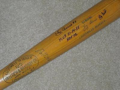 Yogi Berra H&B Signed Game Bat New York Yankees HOF PSA DNA