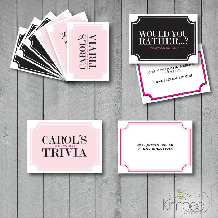 """Custom Printable """"Make your own Card Game"""" Cards by KimbeeConcepts on Etsy"""