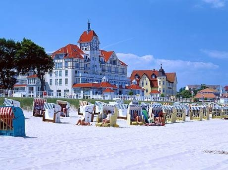 Kühlungsborn, Germany on the Baltic Sea