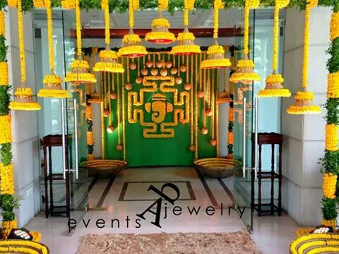 110 Best Images About Decor For Haldi Function On Pinterest Mehndi Party Wedding And Indian