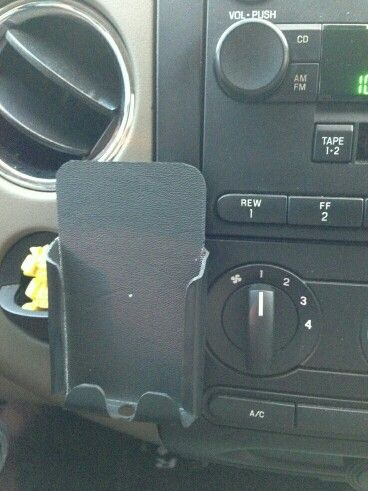 Kydex phone holder for your car