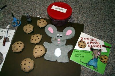 If you give a mouse a cookie bean bag game idea, cute