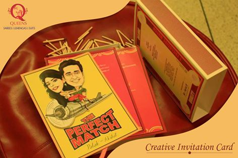 What can be more apt than a matchbox to carry the invitation card of a perfect match? Such quirky invites are trending this wedding season. ‪#‎QueensEmporium‬ ‪#‎weddingtrends‬  #wedding  #trends  #invitation   #unique