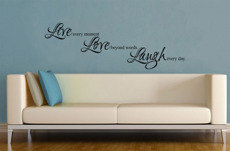 Live Love Laugh Decal