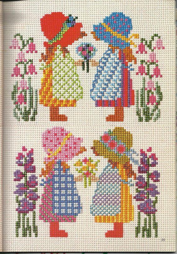 Vintage cross stitch pattern