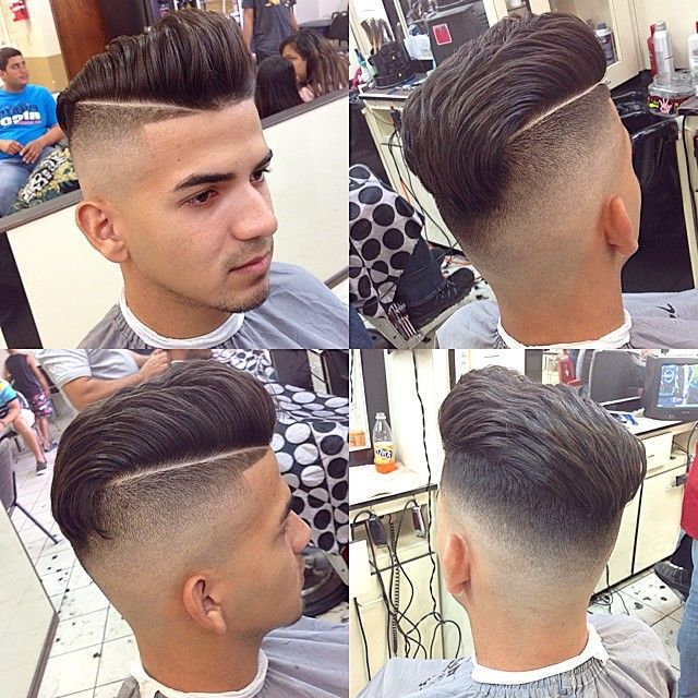Fade Mens Curly Haircut