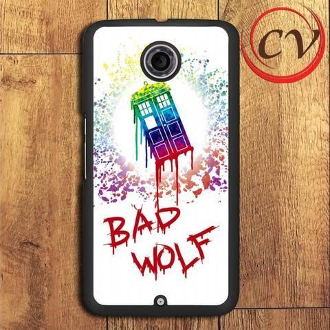 Doctor Who Bad Wolf Nexus 5,Nexus 6,Nexus 7 Case