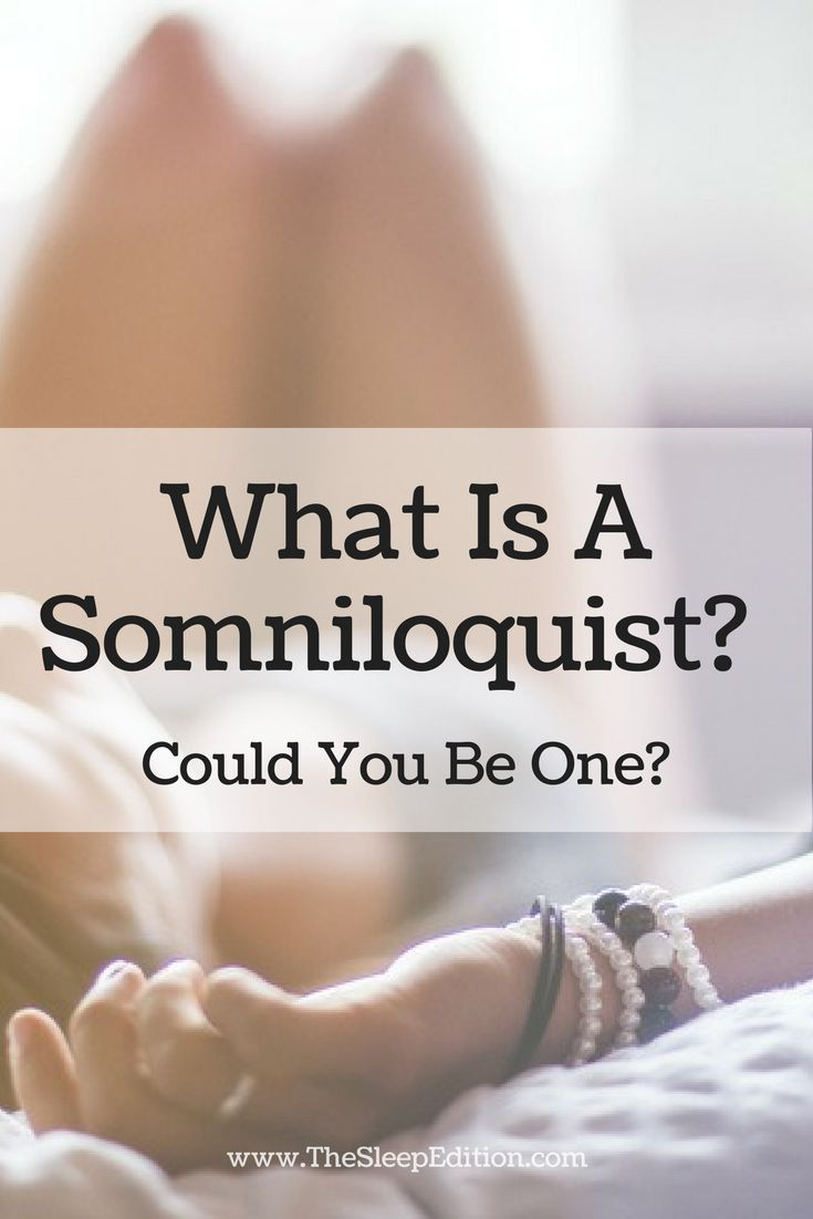 What is a Somniloquist? Could you be one? Find out more.