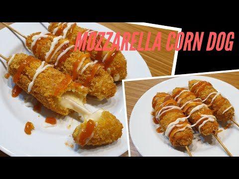 Resep Mozzarella Corn Dog Youtube Makanan Makanan Dan Minuman Resep