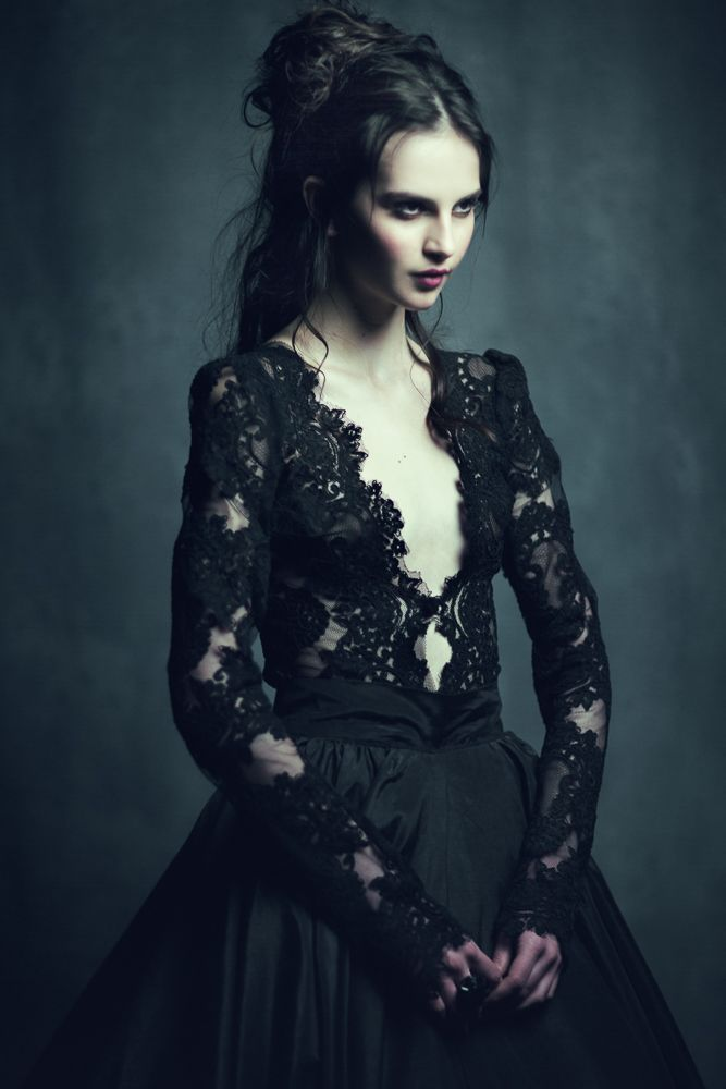 Nati by EmilySoto.deviantart.com on @deviantART, Bride in black??
