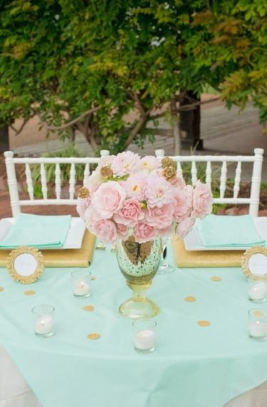 110 best Mint & Pink Wedding images on Pinterest | Color schemes ...