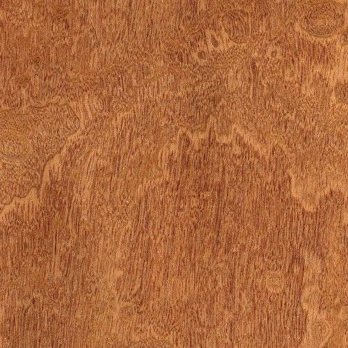 """Muestra de chapa de """"Caoba"""" pommelé - Muestra de chapa de madera de """"Caoba"""" pommelé de 30 x 20 cm. aproximadamente y 0,6 mm. de espesor."""