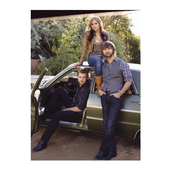 Lady Antebellum - Credit: Letras.mus.br ❤ liked on Polyvore