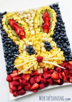 Creative Food Ideas fruit tray