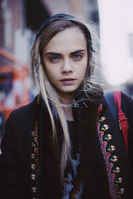 Cara Delevingne's eyebrows are just... ONNNNN POINT. Most flawless model everrrr