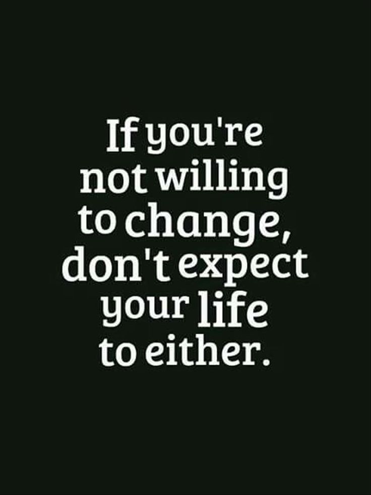 A change is as good as a rest, change is good for us all...