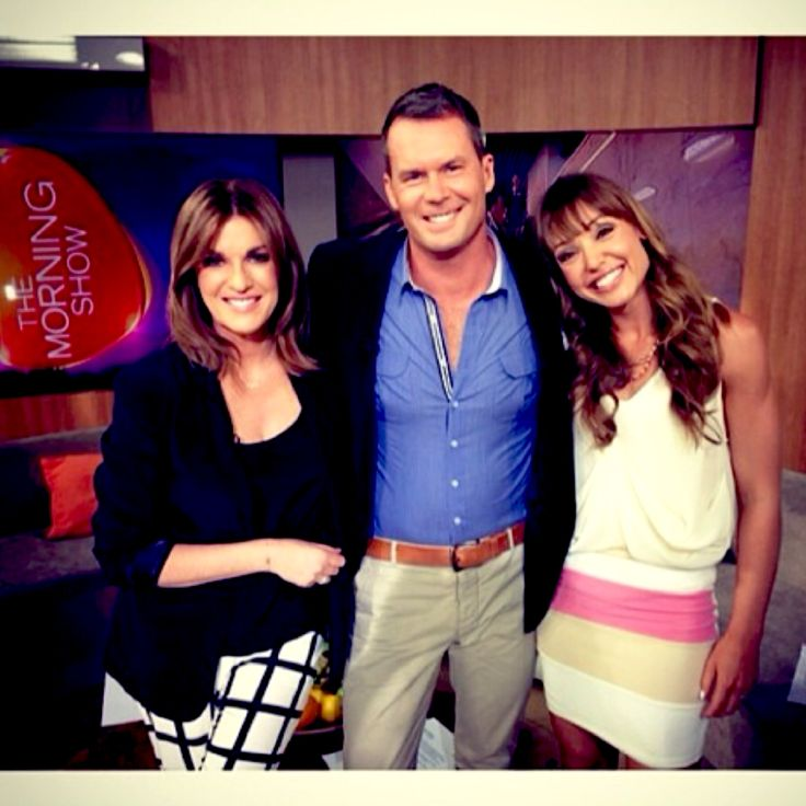 Emma Mullings donned our Nookie lantern lights mini skirt and Shona Joy cami on Channel 7's The Morning Show in October for a neutral look. Shop both at www.threadsandstyle.com.au.