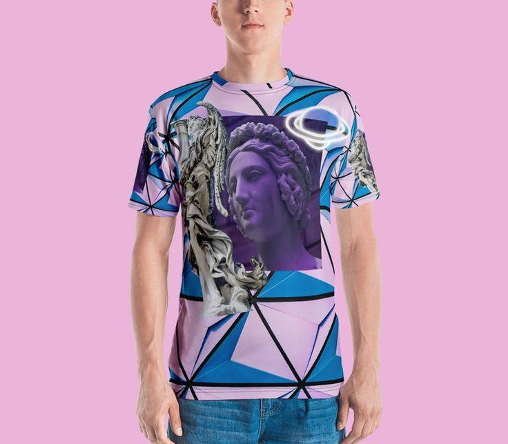 Vaporwave, vaporwave shirt, synthwave, streetwear, aesthetic, retrowave, 90s, tumblr, tumblr shirt, harajuku, saturn